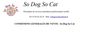 Conditions générales de vente So Do So Cat